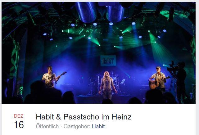 16.12.2017 Konzert im Heinz in Salzburg