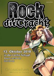 Konzert Rock die Tracht 13.10.2018