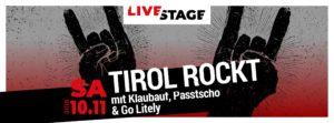 10.11.2018 Konzert im Lifestage Innsbruck
