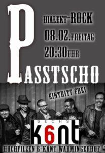 Konzert 6Kant Warmingerhof Hochfilzen 08.02.2019